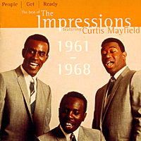 Обложка альбома «The Impressions. The Best Of The Impressions» (Curtis Mayfield, «The Impressions», 1997)