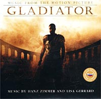 Обложка альбома «Gladiator: Music From The Motion Picture. Music By Hans Zimmer And Lisa Gerrard» (Hans Zimmer And Lisa Gerrard, 2002)