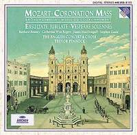Обложка альбома «Mozart: Coronation Mass» (Trevor Pinnock, 1994)