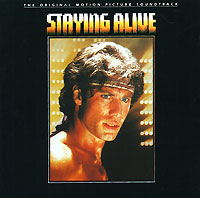 Обложка альбома «Staying Alive. The Original Motion Picture Soundtrack» (1983)