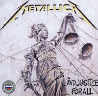 Обложка альбома «And Justice For All» (Metallica, 1988)