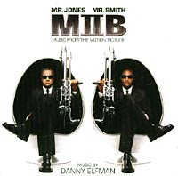 Обложка альбома «Men In Black II: Music From The Motion Picture» (2002)