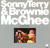 Обложка альбома «Sonny Terry And Brownie McGhee. Back To New Orleans» (Sonny Terry, Brownie McGhee, 1989)