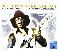 Обложка альбома «Superman Lover. The Ultimate Collection» (Johnny «Guitar» Watson, 2004)
