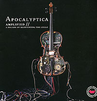 Обложка альбома «Amplified. A Decade Of Reinventing The Cello» (Apocalyptica, 2006)