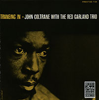 Обложка альбома «John Coltrane With The Red Garland. Traneing In» (John Coltrane, Red Garland, 1987)
