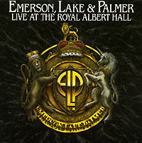 Обложка альбома «Live At The Royal Albert Hall» (Emerson, Lake And Palmer, 2004)