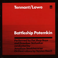 Обложка альбома «Battleship Potemkin. Tennant/Lowe» (Pet Shop Boys, 2005)