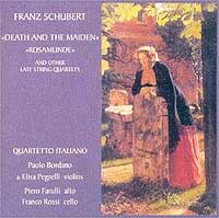 Обложка альбома «Schubert. «Death And The Maiden» / «Rosamunde». Quartetto Italiano» (2003)