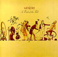 Обложка альбома «A Trick Of The Tail» (Genesis, 1976)