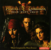 Обложка альбома «Pirates Of The Caribbean. Dead Man's Chest» (2006)
