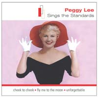 Обложка альбома «Sings The Standards» (Peggy Lee, ????)