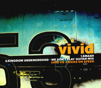 Обложка альбома «Vivid. Smash. Kingdom Underground — We Don't Play Guitar-Mix» (2004)