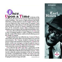 Обложка альбома «Once Upon A Time» (Earl Hines, 2006)