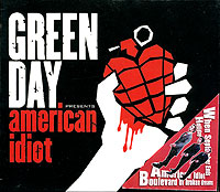 Обложка альбома «American Idiot» (Green Day, 2005)