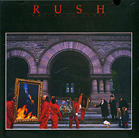 Обложка альбома «Moving Pictures» (Rush, 1981)