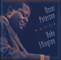 Обложка альбома «Plays Duke Ellington» (Oscar Peterson, 1999)