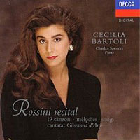 Обложка альбома «Rossini Recital. 19 Songs & Cantata» (Cecilia Bartoli, 2006)