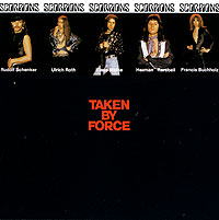 Обложка альбома «Taken By Force» (Scorpions, 2001)