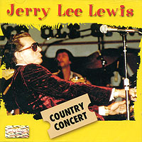 Обложка альбома «Country Concert» (Jerry Lee Lewis, 1999)