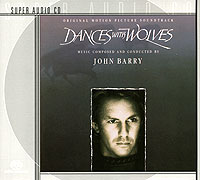 Обложка альбома «Dances With Wolves. Original Motion Picture Soundtrack» (John Barry, 1990)