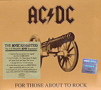 Обложка альбома «For Those About To Rock» (AC/DC, 2003)