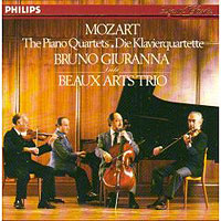 Обложка альбома «Mozart. The Piano Quartets. Bruno Giuranna. Beaux Arts Trio» (Bruno Giuranna, Beaux Arts Trio, 2006)