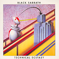 Обложка альбома «Technical Ecstasy» (Black Sabbath, 1976)