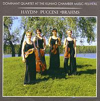 Обложка альбома «Dominant Quartet At The Kuhmo Chamber Music Festival» (2006)