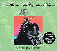 Обложка альбома «The Beginning Of Doves» (Marc Bolan, 2002)