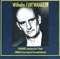 Обложка альбома «Schubert: Symphony No. 9 «Great» / Strauss: Four Songs for Voice and Orchestra» (Wilhelm Furtwangler, 1994)