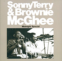 Обложка альбома «Sonny Terry And Brownie McGhee. Midnight Special» (Sonny Terry, Brownie McGhee, 1989)