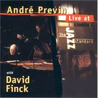 Обложка альбома «Live At The Jazz Standard» (Andre Previn, 2006)