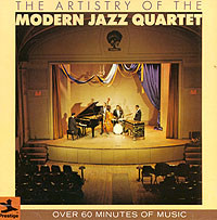 Обложка альбома «The Artistry Of The Modern Jazz Quartet» (The Modern Jazz Quartet, 1986)