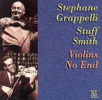 Обложка альбома «Stephane Grappelli. Stuff Smith. Violins No End» (Stephane Grappelli, Stuff Smith, 1996)