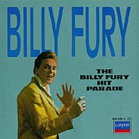 Обложка альбома «The Billy Fury Hit Parade» (Billy Fury, 1987)
