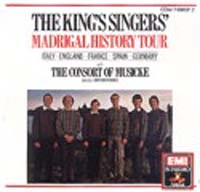 Обложка альбома «Madrigal History Tour» (King's Singers, ????)