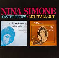 Обложка альбома «Pastel Blues. Let It All Out» (Nina Simone, 1990)