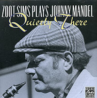 Обложка альбома «Plays Johnny Mandel. Quietly There» (Zoot Sims, 1993)