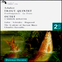 Обложка альбома «Trout Quintet. Violin Sonatas. Octet In F» (Schubert, 2006)
