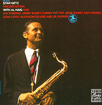 Обложка альбома «Stan Getz With Al Haig. Prezervation» (Stan Getz, Al Haig, 1992)