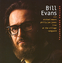 Обложка альбома «Getting Sentimental» (Bill Evans, 2003)