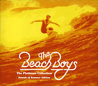 Обложка альбома «The Platinum Collection» (The Beach Boys, 2005)