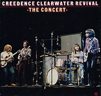 Обложка альбома «The Concert» (Creedence Clearwater Revival, 1980)