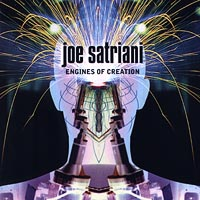 Обложка альбома «Engines Of Creation» (Joe Satriani, 2000)