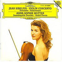 Обложка альбома «Jean Sibelius. Violin Concerto. Anna-Sophie Mutter» (Anna-Sophie Mutter, 2006)