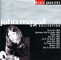 Обложка альбома «Blues Archives. MP3 Collection» (John Mayall, 2002)
