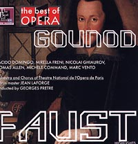 Обложка альбома «The Best of Opera. Gounod. Faust» (Gounod, 2000)