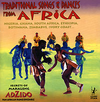Обложка альбома «Adzido. Traditional Songs & Dances From Africa» (2005)
