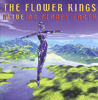 Обложка альбома «Alive On Planet Earth» (The Flower Kings, 2004)